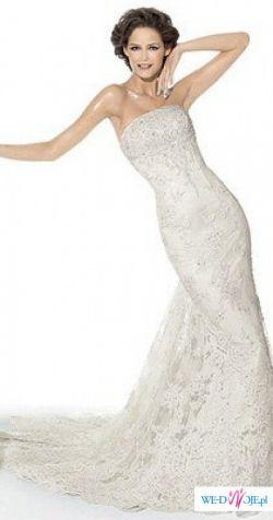 Zjawiskowa suknia ślubna Pronovias-India