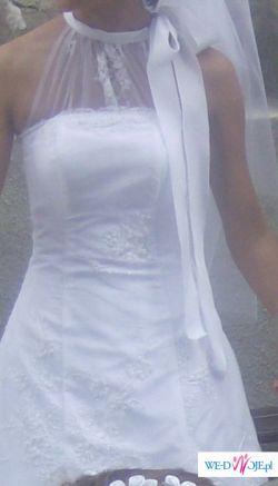 Zjawiskowa suknia ślubna rozm.36