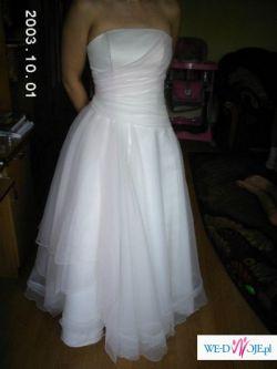 Zjawiskowa suknia ślubna rozm.38