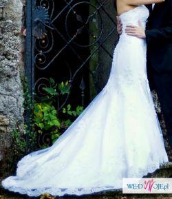 Zjawiskowa suknia ślubna Sincerity 3664