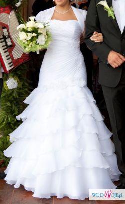 Zjawiskowa suknia ślubna Steffi, rozm. 38