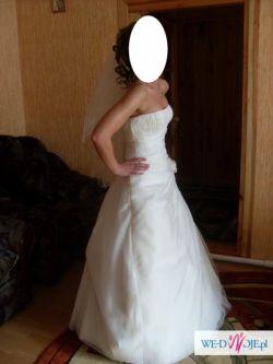 Zjawiskowa Suknia Ślubna w SUPER CENIE !!
