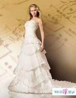 Zjawiskowa suknia z salonu Duet w Kakowie