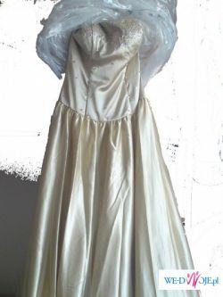 Zlota suknia wieczorowa