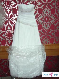 Zmyslowa suknia ślubna