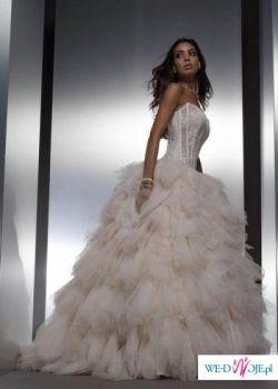 ZNIEWALAJACA suknia Trefle