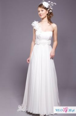 Zwiewna, delikatna suknia ślubna rozm. 38 salon Karina