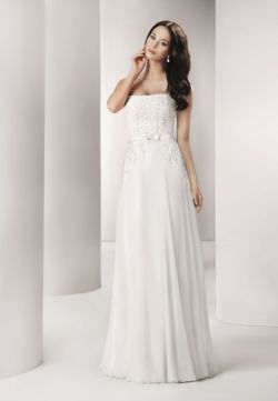 Zwiewna i delikatna suknia ślubna Agnes