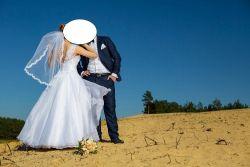 Zwiewna i olśniewajaca suknia ślubna