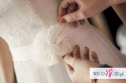 Zwiewna, romantyczna, delikatna suknia ślubna