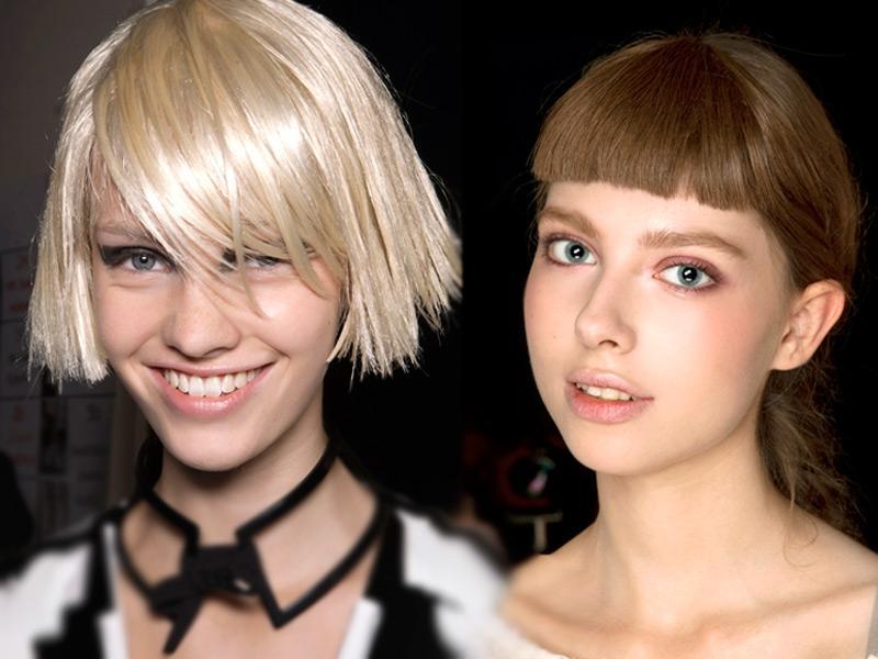 2 Fryzury Dla Grubych I Sztywnych Włosów Fryzury Polkipl