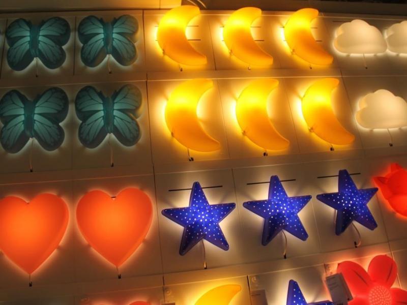 ikea lampy dla dzieci
