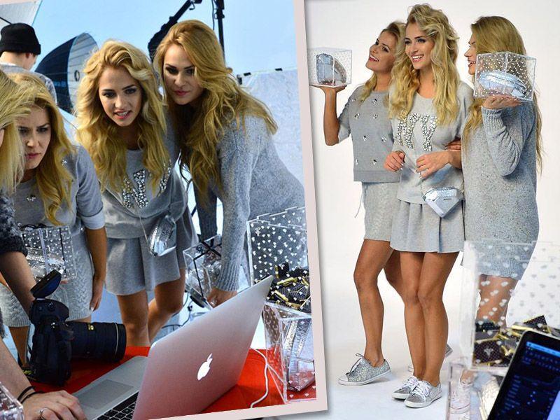 3 piękne siostry w świątecznej kampanii Sabriny Pilewicz
