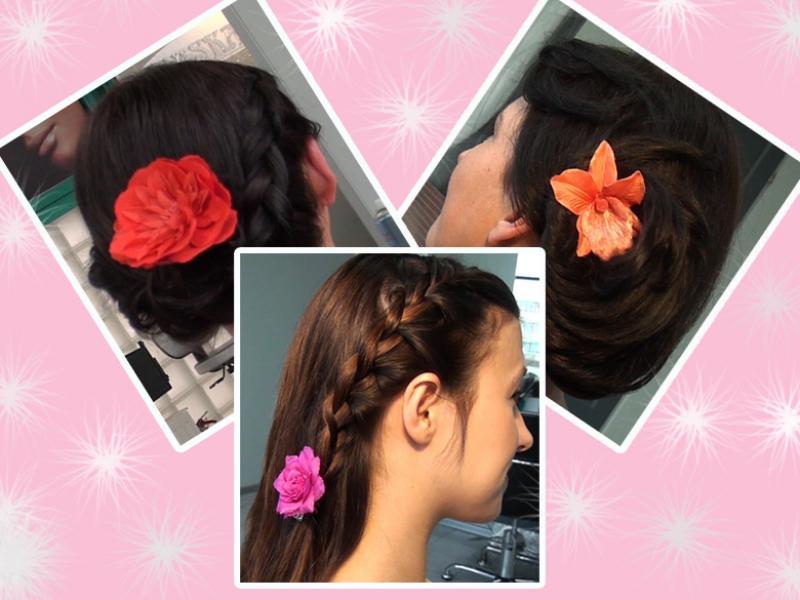 3 romantyczne fryzury z kwiatami [video]