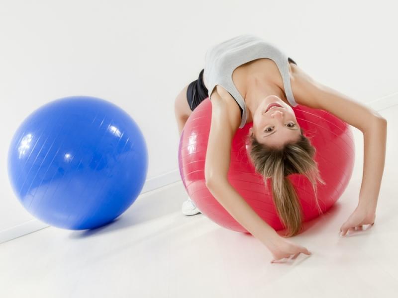 ćwiczenia z piłką