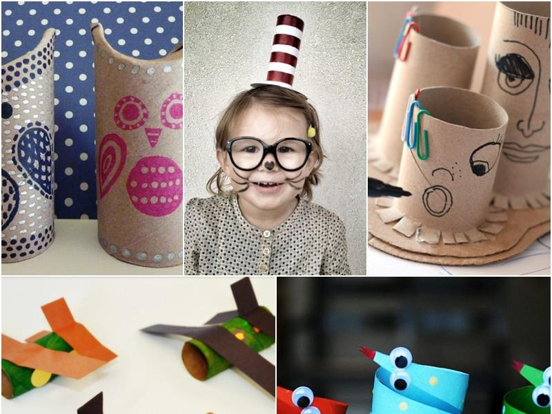 5 Pomysłów Na Prace Plastyczne Z Rolki Po Papierze Dziecko Polkipl