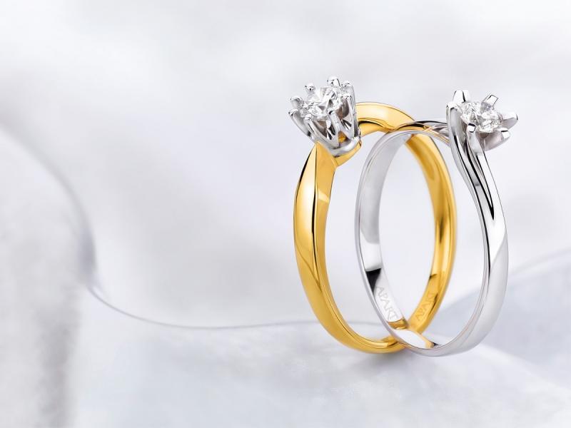 5 rodzajów pierścionków zaręczynowych w stylu gwiazd!