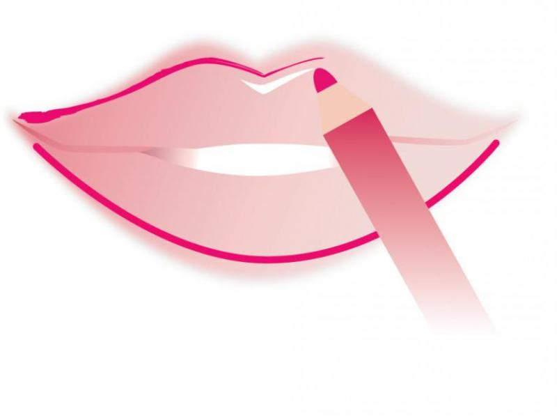 ABC makijażu - Popraw kształt ust