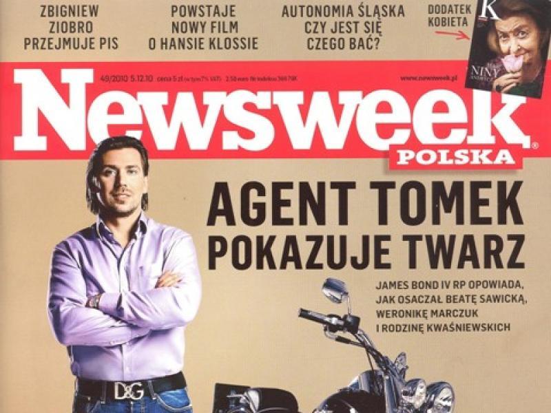 """Agent Tomek """"debeściakiem""""?"""