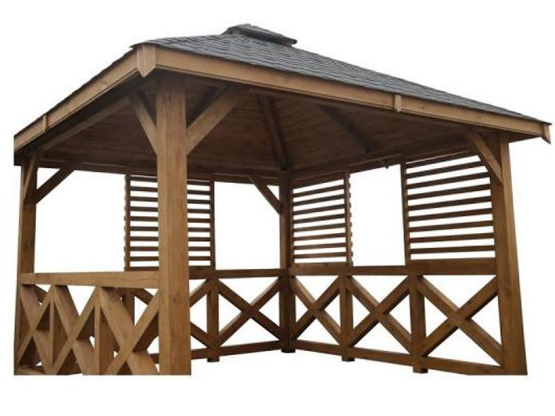 Altana ogrodowa drewniana B50 Extra