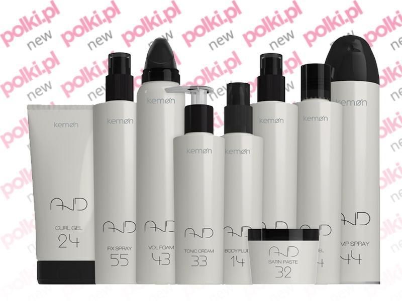 And by Kemon - kosmetyki do stylizacji włosów