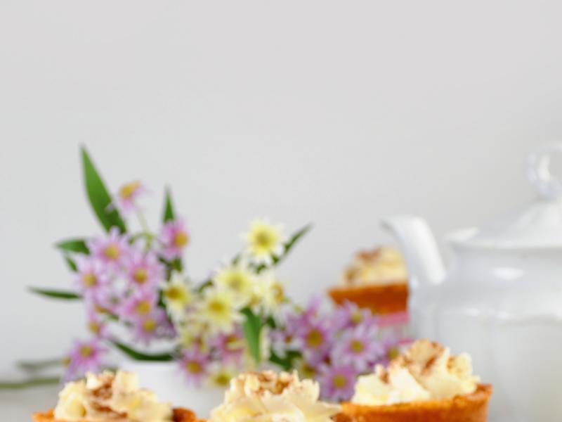 Apetyczne babeczki z masą sernikową