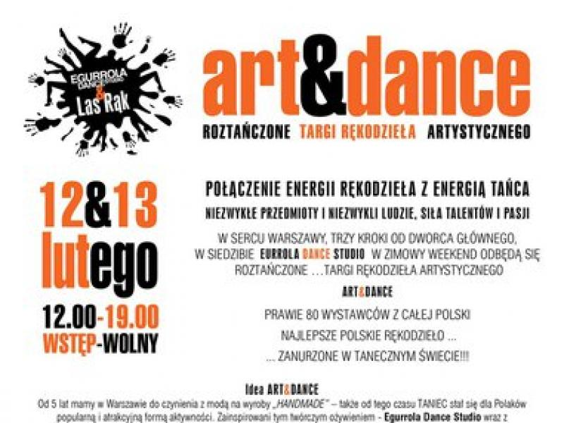 Art & Dance - roztańczone targi rękodzieła artystycznego w Warszawie