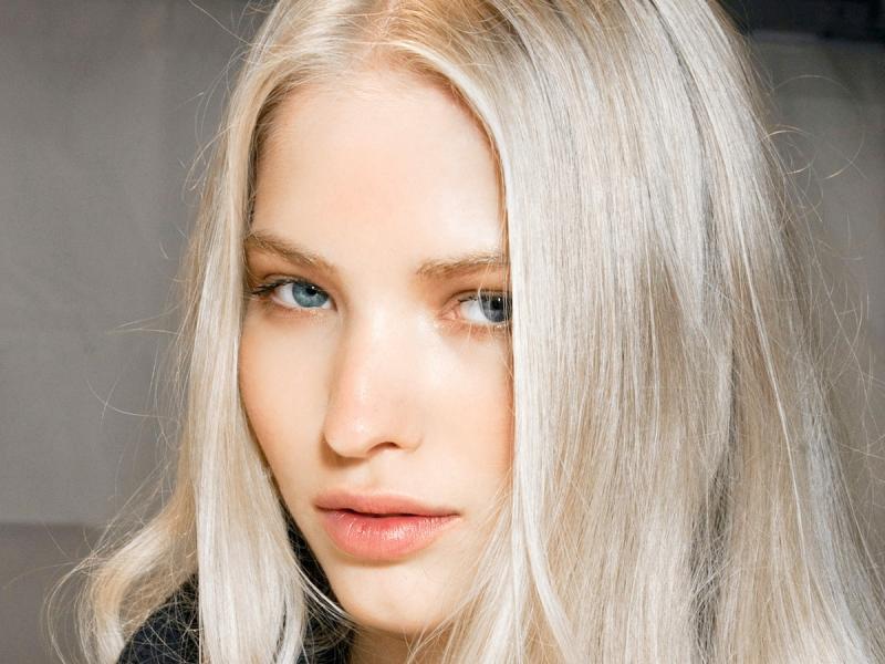 Ash Silver Hair Najmodniejszy Kolor Włosów Wiosny 2019