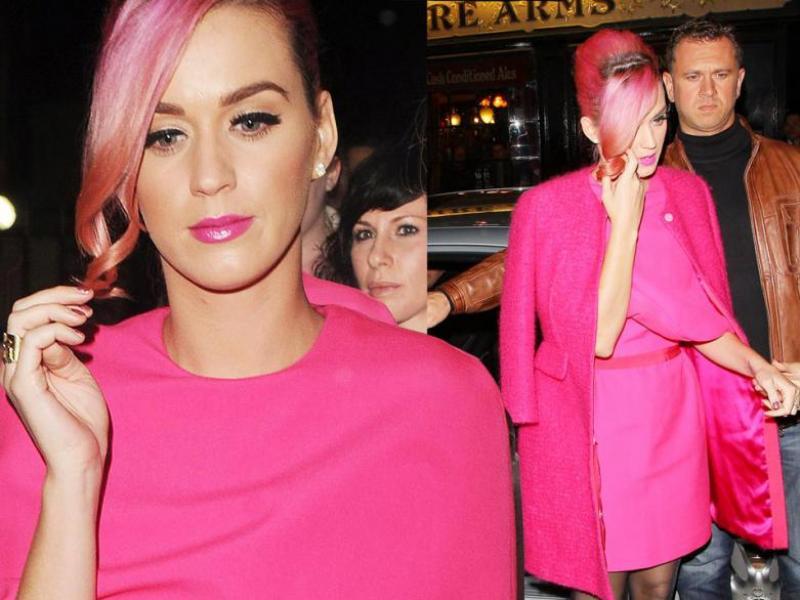 Bądź różowa i widoczna - jak Katy Perry