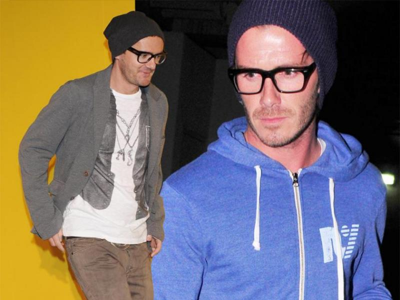 Beckham i Wojewódzki - ten sam styl