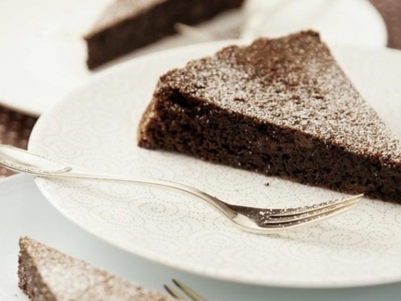 Bezglutenowa tarta czekoladowa