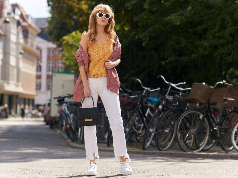 9e9493f18cb48b Białe spodnie: dla kogo i do czego. Porady i pomysły na stylizacje ...