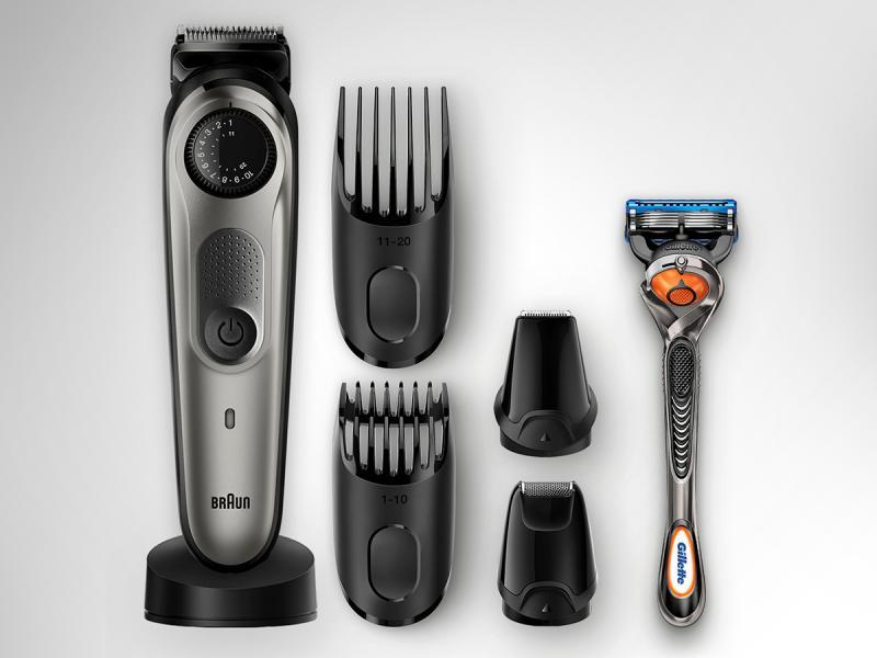 Trymer do zarostu i włosów BT 7040