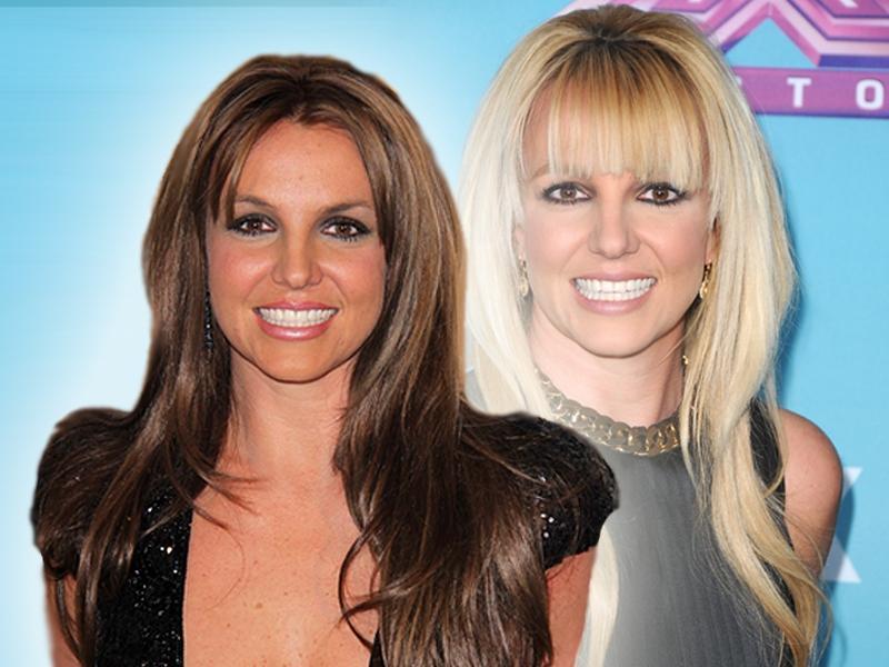 Britney Spears ma ciemne włosy!