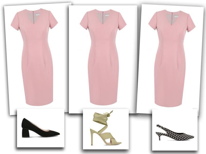 c7cbfaad2e877 Jakie buty do różowej sukienki? Zobacz propozycje naszej stylistki ...