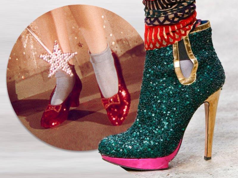 """Buty jak z """"Czarnoksiężnika z krainy Oz"""""""
