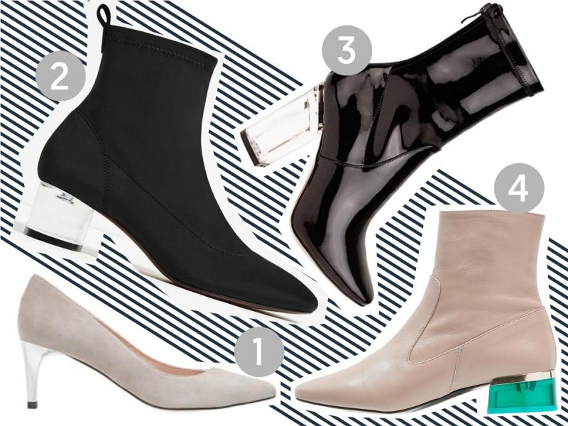 buty z przezroczystym obcasem