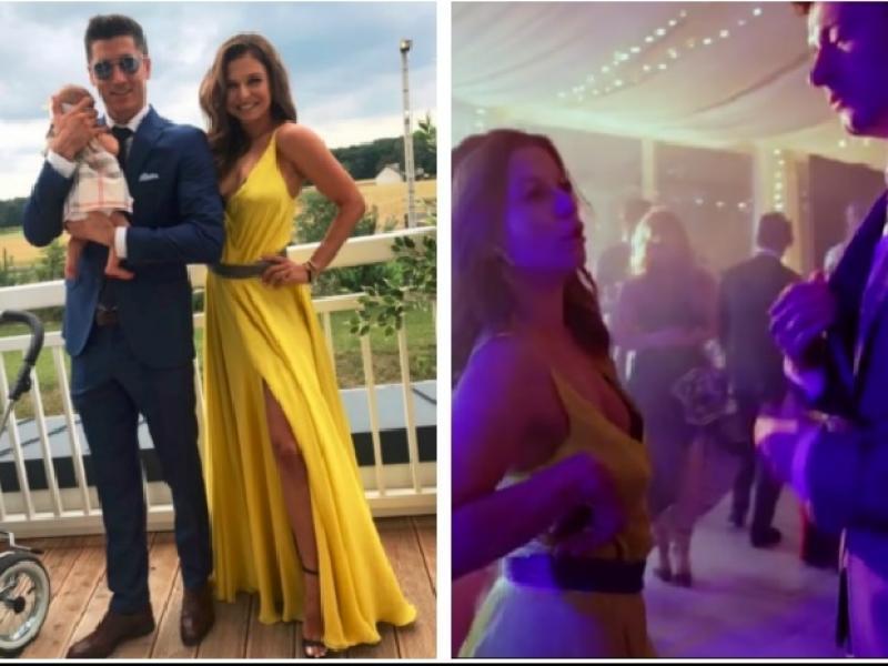 Były zdjęcia z wesela, a teraz ukazało się wideo, jak tańczą Lewandowscy na weselu swoich przyjaciół! To warto zobaczyć