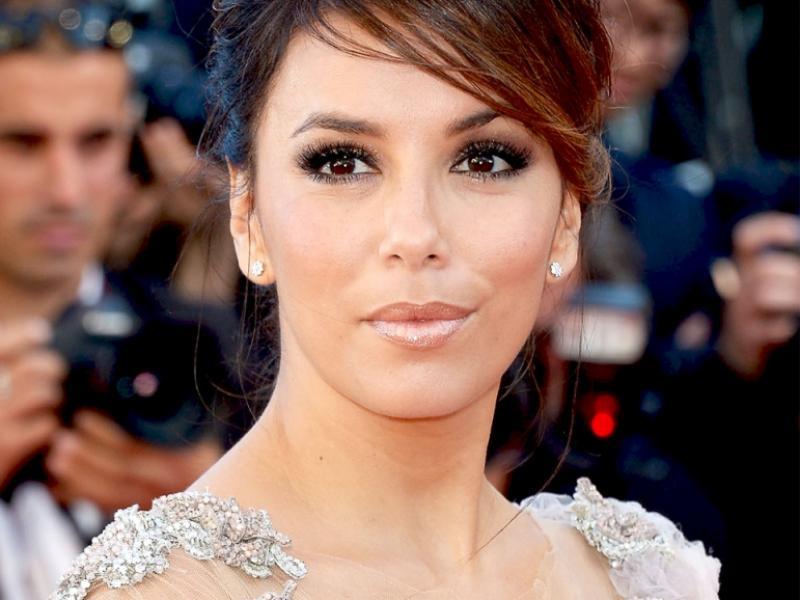 Cannes 2012 - makijaż Evy Longorii - krok po kroku