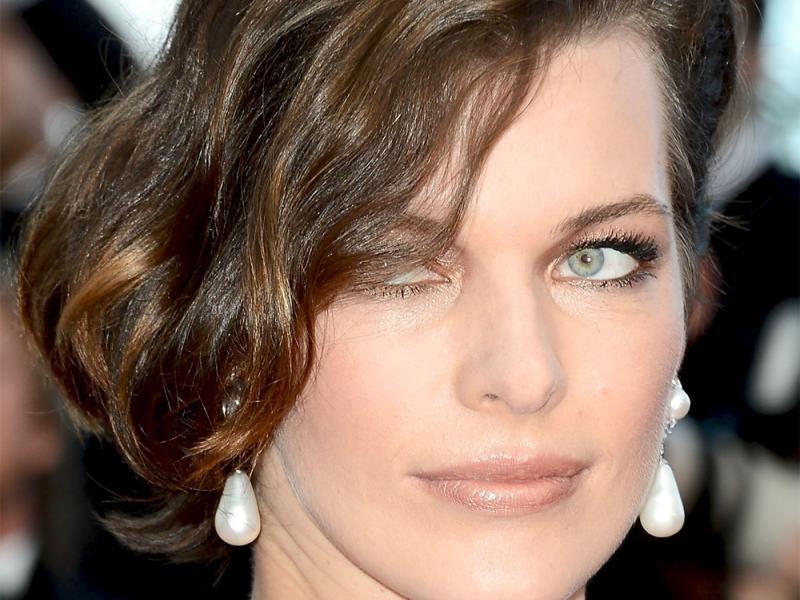 Cannes 2012 - Milla Jovovich - makijaż krok po kroku