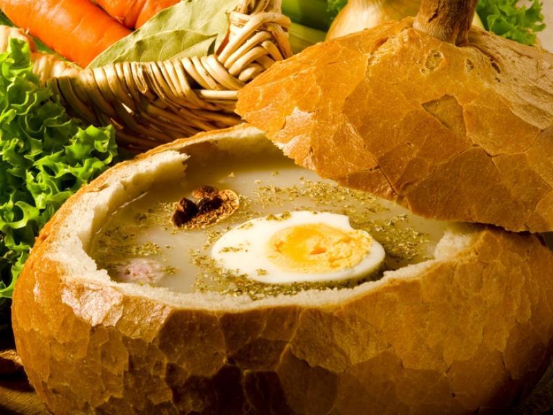 Chlebek do żurku wielkanocnego