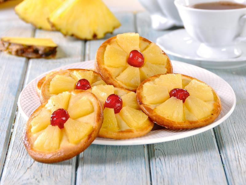 Ciasteczka z ananasem