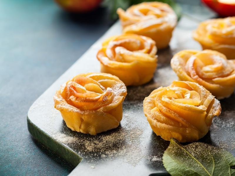 """Ciastka """"Karnawałowe Róże"""""""