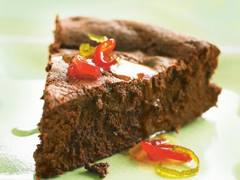 Ciasto czekoladowe z chili