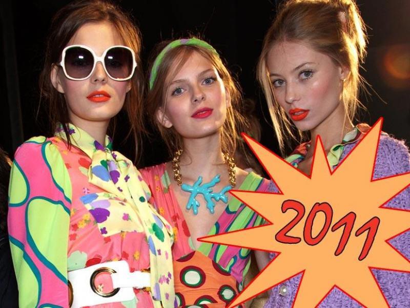 Co będzie modne w 2011 roku