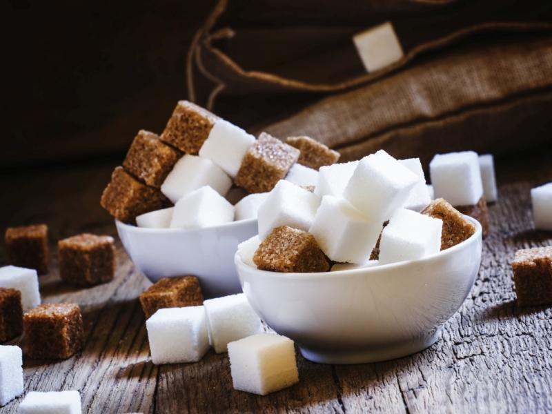 Cukier biały i brązowy
