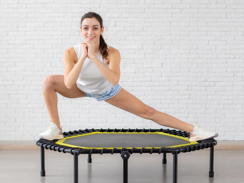 Czy można schudnąć skacząc na trampolinie