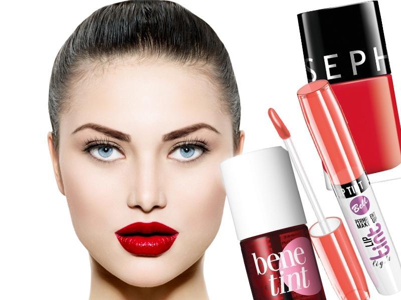Czerwień w makijażu