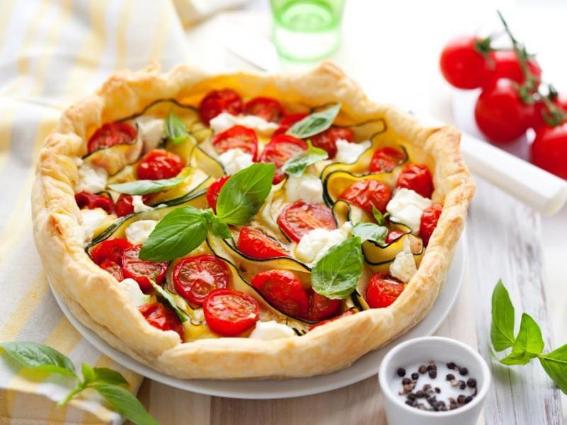 Pizza w wersji fit.