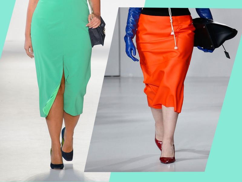 Czy spódnica ołówkowa nadaje się dla pań w rozmiarze plus-size?